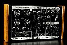 Moog - VX-352 CV Input Expander para el Minimoog Voyager RME